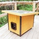 horizontal photo of modern pet house