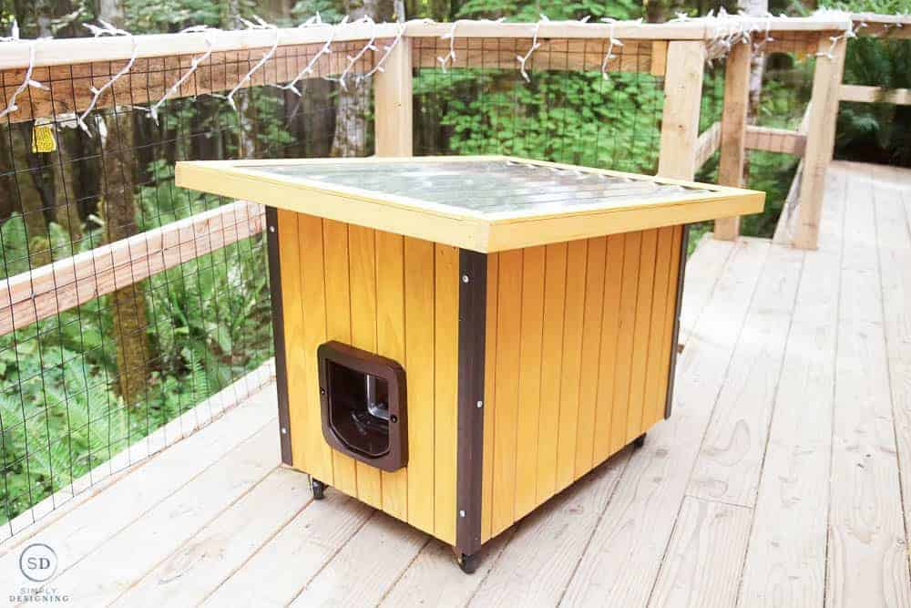 Diy Cat House Simply Designing With Ashley