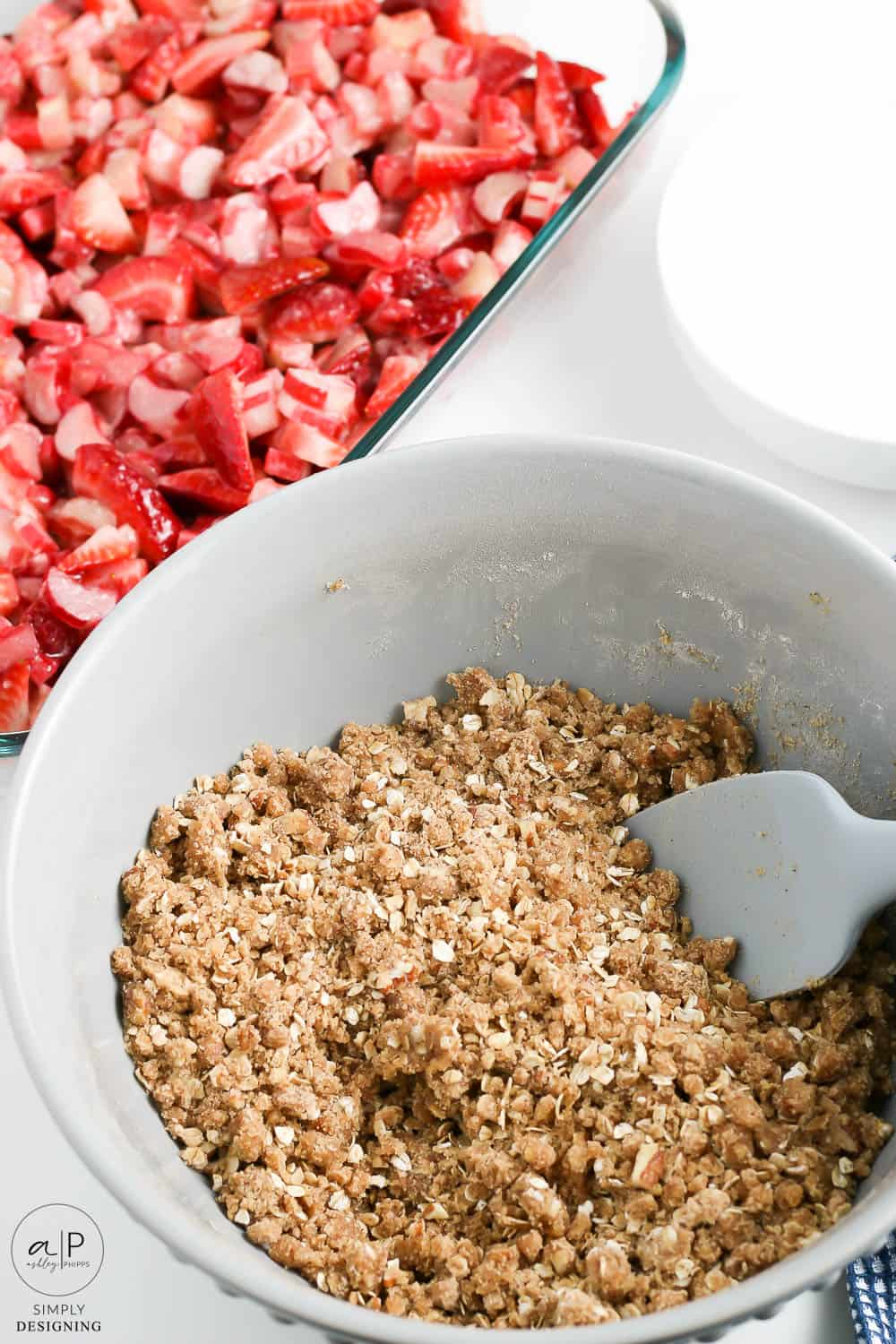 mix topping together