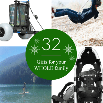 This is the most comprehensive family holiday gift guide that is perfect for the family who wants to spend more time together and create family memories.