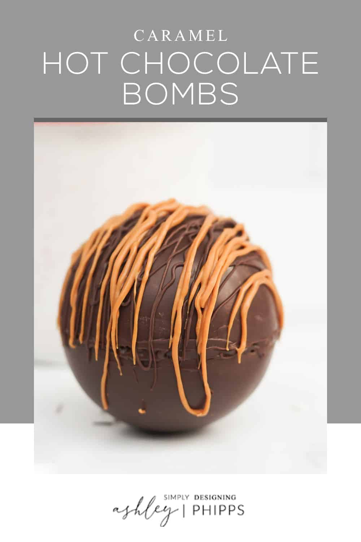 Caramel Hot Chocolate Bombs