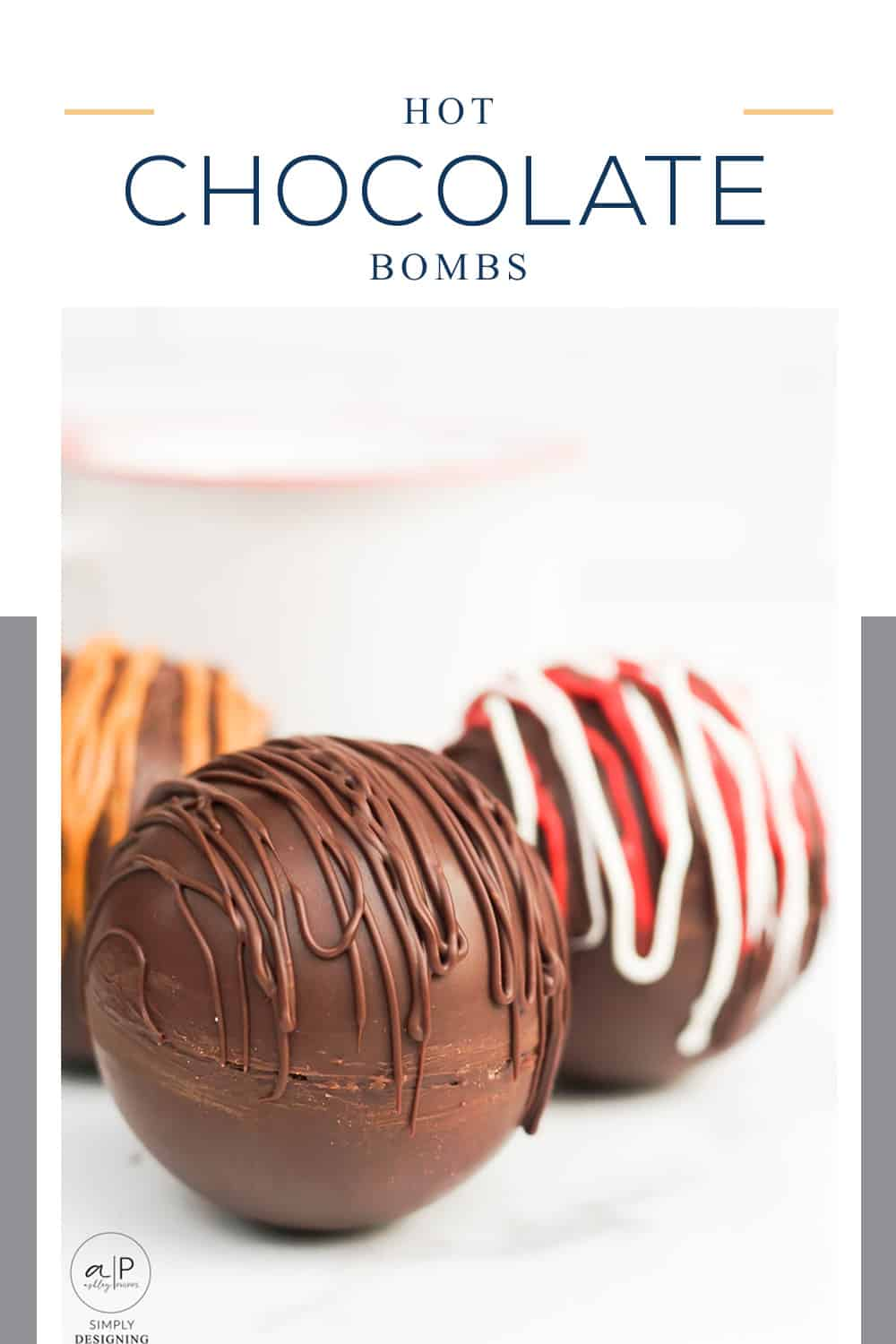 This Hot Chocolate Bomb is a delicious chocolate ball that explodes with marshmellows when put into hot milk for the most tasty hot chocolate ever